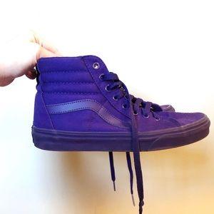 Purple Hightop Vans